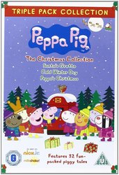 Peppa Pig Christmas 3 DVD Set